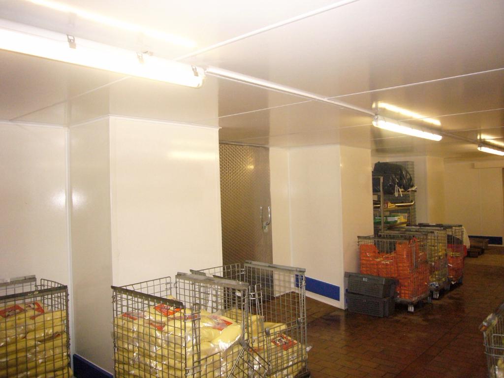 Kühlraum Neubau