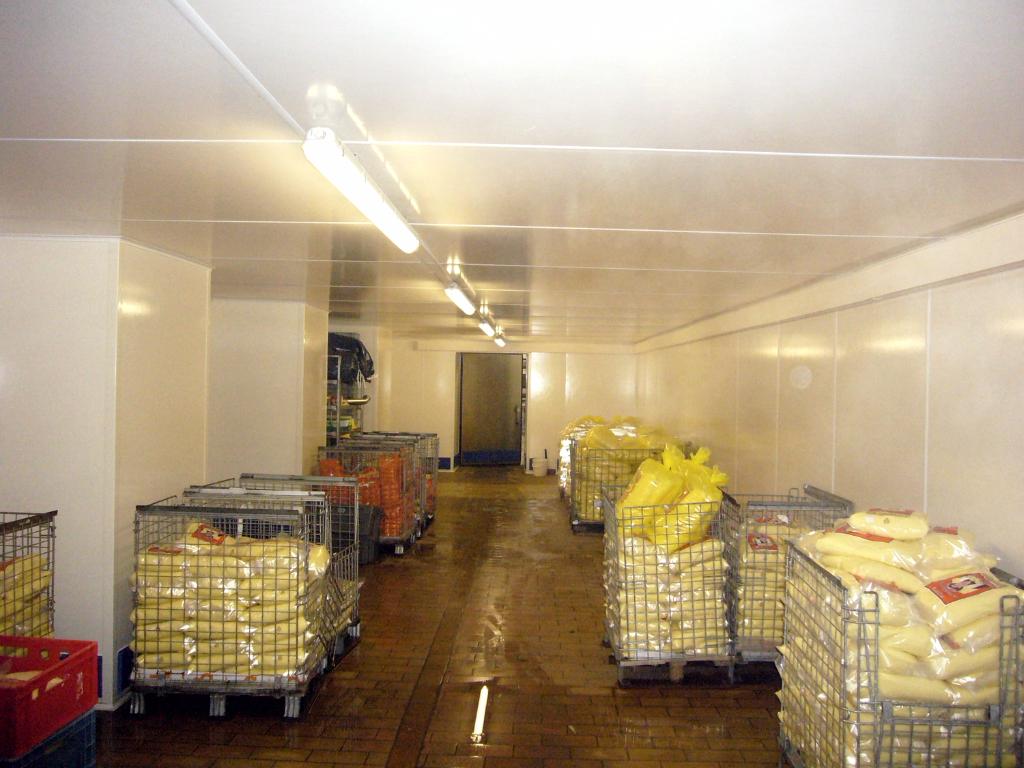 Kartoffelkühlraum