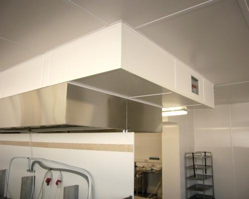 fugenlose Küchendecke